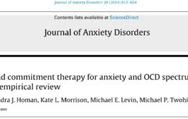 درمان مبتنی بر پذیرش و تعهد برای اختلالهای اضطراب و وسواسی جبری