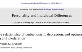 کمالگرایی، افسردگی و خوشبینی