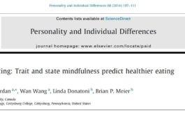 خوردن آگاهانه: ذهنآگاهی سرشتی و وضعیتی رفتار خوردن بهتر را پیشبینی میکند