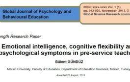 هوش هیجانی ، انعطاف پذیری شناختی و نشانگان روانشناختی در معلمان قبل از خدمت