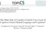 نقص در کنترل شناختی و زبان و شناخت