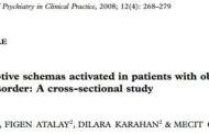 طرحواره های ناسازگار اولیه در بیماران مبتلا به اختلال وسواسی جبری