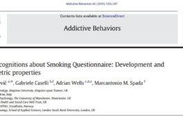 پرسشنامه فراشناخت مصرف سیگار
