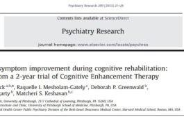 بهبود علائم منفی در توانبخشی شناختی