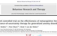 درمان فراشناختی و درمان بلاتکلیفی