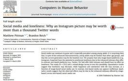 رسانه های اجتماعی و تنهایی