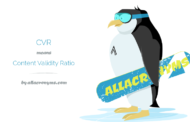 نسبت روایی محتوا (CVR) و شاخص روایی محتوا (CVI)