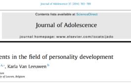 پیشرفتهایی در حوزهی تحول شخصیت