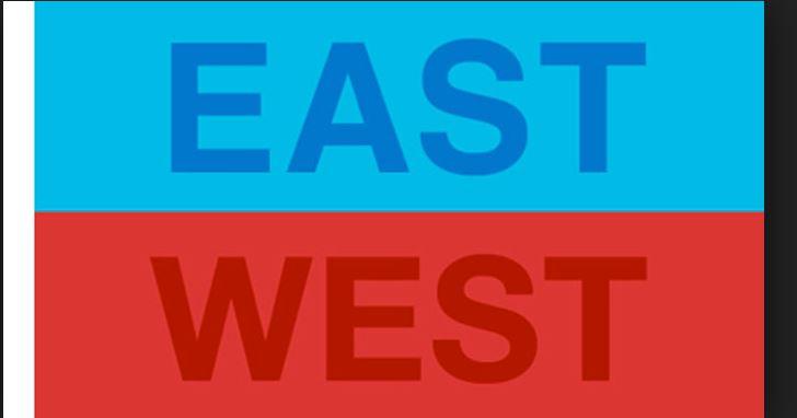 غرب در برابر شرق