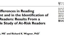 تفاوتهای جنسیتی در آسیب خواندن