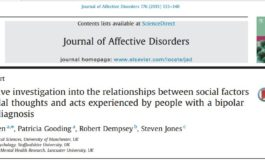 تحقیقی کیفی در روابط بین عوامل اجتماعی و افکار و اعمال خودکشی تجربه شده توسط افراد مبتلا به اختلال دو قطبی