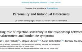 رابطه بدرفتاری هیجانی و نشانه های اختلال شخصیت مرزی
