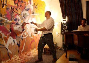 یک موسیقی را نقاشی کنید.