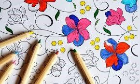 یک طرح را رنگ آمیزی کنید.