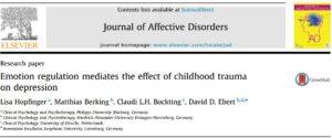 نقش واسطهای تنظیم هیجانی در آسبیهای دوران کودکی و افسردگی