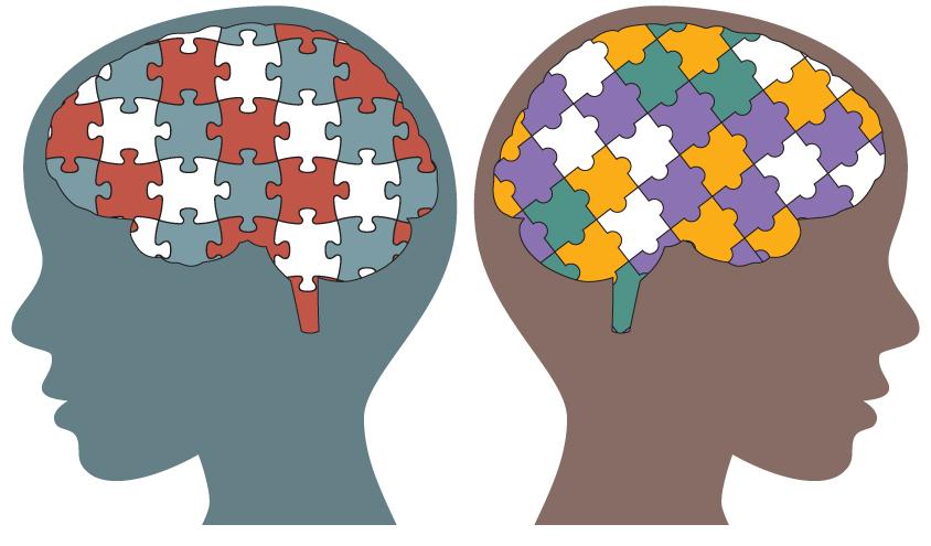 تفاوت های جنسیتی در رفتار و مغز افراد متبلا به اوتیسم