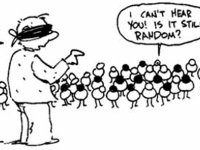 روشهای نمونه گیری احتمالی: تصادفی ساده، منظم، طبقه ای و خوشه ای