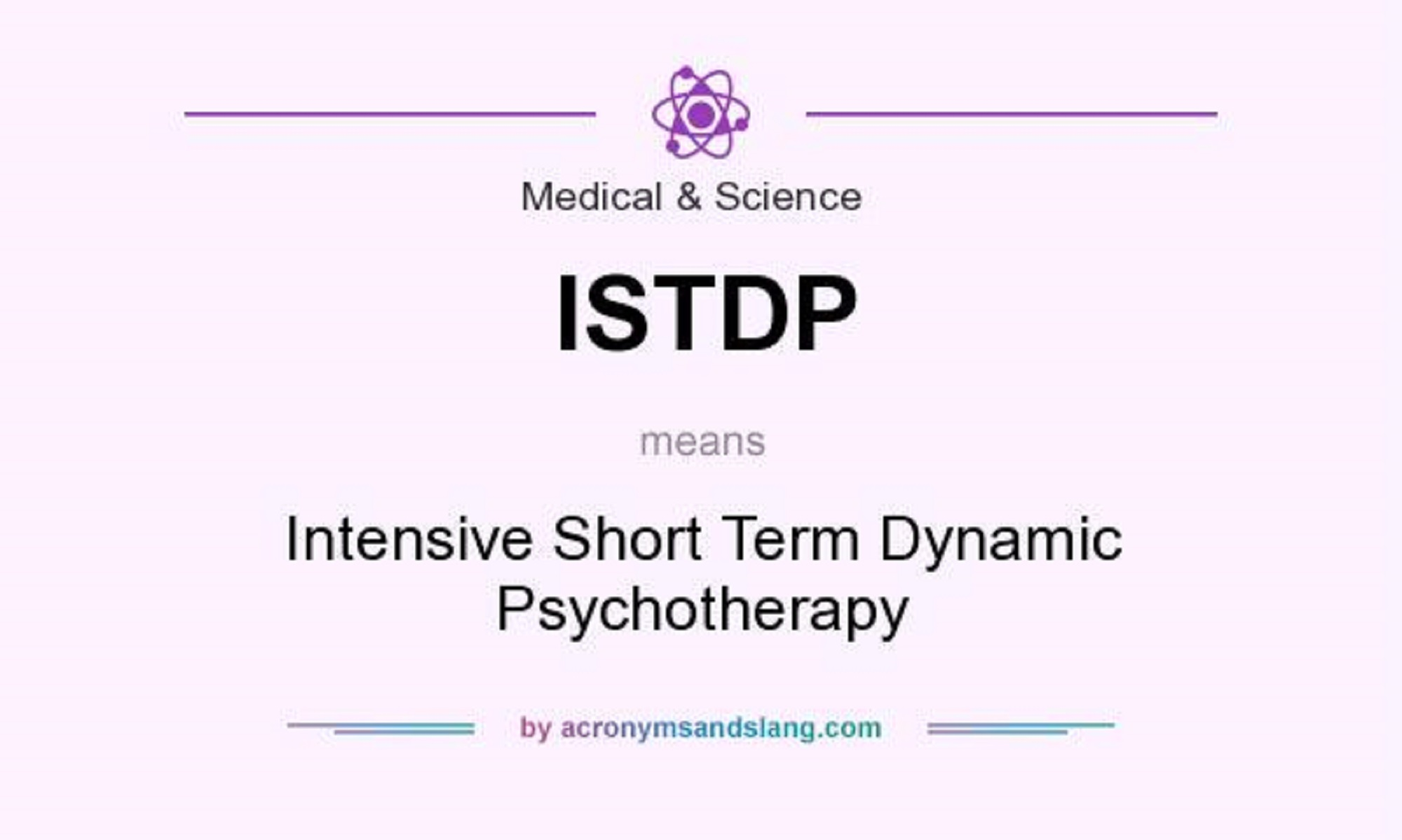 رواندرمانی پویشی فشرده و کوتاه مدت (ISTDP) چیست؟