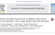 انعطاف پذیری شناختی در کودکان اوتیسم