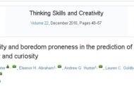 نقش شخصیت و آمادگی برای ملال در پیشبینی خلاقیت و کنجکاوی
