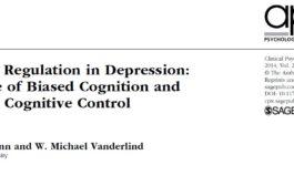 تنظیم هیجان در افسردگی