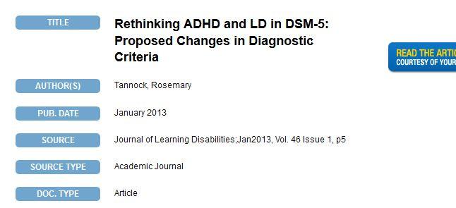 بازاندیشیِ اختلال نارسایی توجه بیش فعالی و اختلال یادگیری در DSM 5