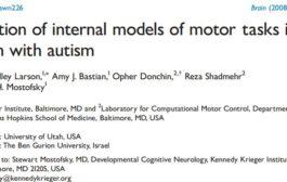 اکتساب مدلهای درونی تکالیف حرکتی در کودکان مبتلا به اوتیسم