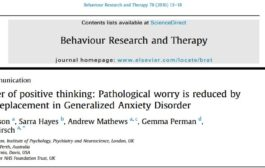 قدرت تفکر مثبت: کاهش نگرانی نابهنجار در اختلال اضطراب تعمیم یافته از طریق جایگزینی افکار