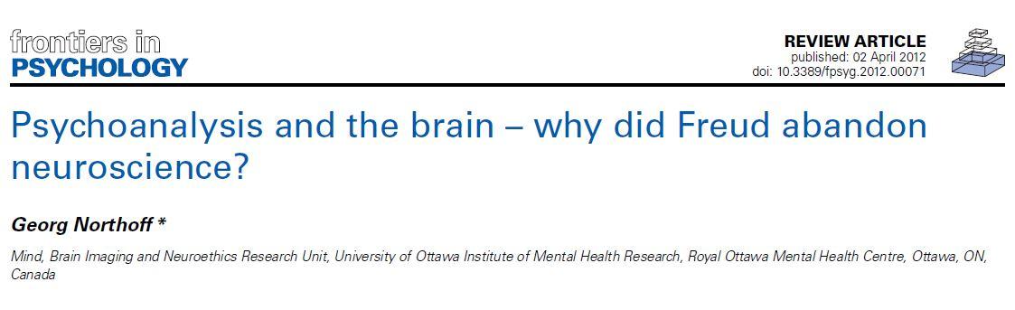 چرا فرويد عصب شناسي را كنار گذاشت؟