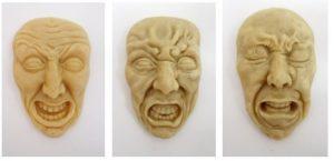 یک مجسمه از خشم خود بسازید.