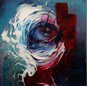 رنگها در این نقاشی بیانگر هیجانات غم، خشم، شرارت و حالت مرموز هستند