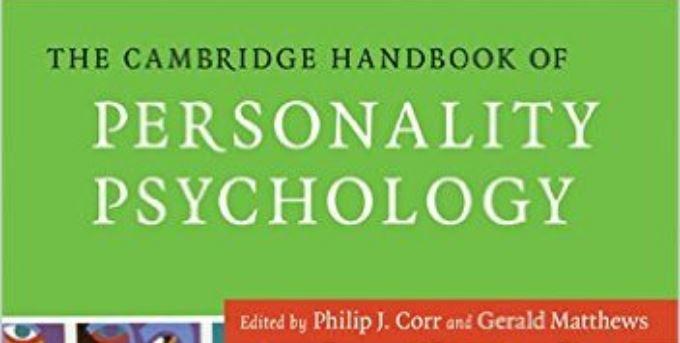 دانلود کتاب روانشناسی شخصیت کمبریج