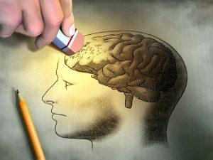 کاهش حجم مغز